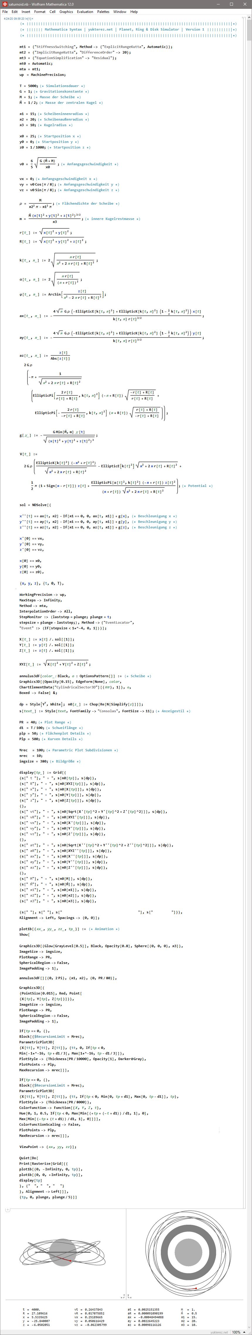 Simulator Code & Animation